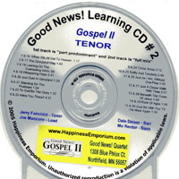 Good News Quartet : Gospel 2 - CD Lead : Parts CD :