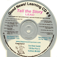 Good News Quartet : Gospel Album 8 - Tell The Story - CD Lead : Parts CD :