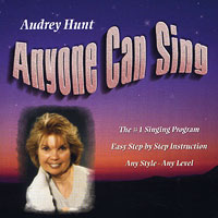 Audrey Hunt : Anyone Can Sing : 00  1 CD :
