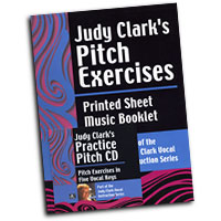Judy Clark : Pitch Exercises - Vol 1 : 01 Book & 1 CD Vocal Warm Up Exerci :  : PEB-V1