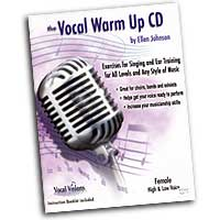 Ellen Johnson : The Vocal Warm Up CD - Female High and Low Voice : 01 Book & 1 CD Vocal Warm Up Exerci :  : VWUF