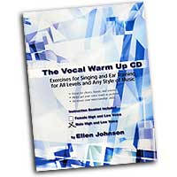 Ellen Johnson : The Vocal Warm Up CD - Male High and Low Voice : 01 Book & 1 CD Vocal Warm Up Exerci :  : VWUM