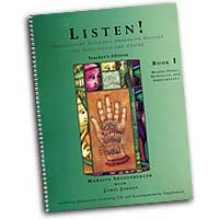 Marylyn Shenenberger & James Jordan : Listen! Introductory Harmonic Immersion Solfege : 01 Book & 1 CD : James Jordan :  : G-6971A