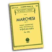 Mathilde Marchesi : Elementary Progressive Vocalises - Low Voice : Vocal Warm Up Exercises :  : 073999556100 : 0793557089 : 50255610