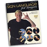 John Jacobson : Sign Language For Singers : 01 Book & DVD : John Jacobson :  : 073999257755 : 0634082388 : 09970880