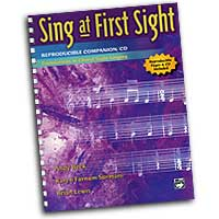 Karen Surmani : Sing At First Sight - Reproducible Companion CD Kit : 01 Book & 1 CD :  : 038081259598  : 00-23833