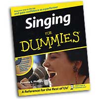Pamelia Phillips : Singing for Dummies : 01 Book & 1 CD :  : 0764524755