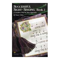 Nancy Telfer : Successful Sight-Singing Book 2 : 01 Book : Nancy Telfer :  : V82S