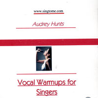 Audrey Hunt : Total Vocal Warm Up : 00  1 CD Vocal Warm Up Exercises :