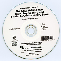 Close Harmony For Men : New Ashmolean Marching Society - Parts CD : Parts CD :  : 884088393007 : 08750116