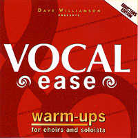 David Williamson : Vocal Ease Warm Ups - Directors Edition : 00  1 CD Vocal Warm Up Exercises :  : 4575709733