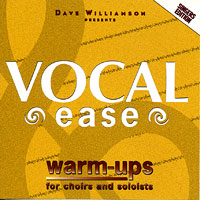 David Williamson : Vocal Ease Warm Ups - Singers Edition : 00  1 CD Vocal Warm Up Exercises :  : 4575709735