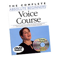 Andres Andrade : The Complete Absolute Beginners Voice Course : Book, DVD & CD :  : 752187995098 : 0825636698 : 14007267