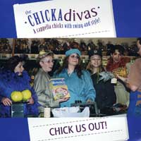 CHICKAdivas : Chick Us Out : 00  1 CD :