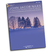 John Jacob Niles : Christmas Songs and Carols - High Voice : Solo : Songbook & CD :  : 884088235536 : 1423436946 : 50486739