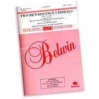 Russell Robinson : Renaissance Chorals for Mixed Voices : SATB : Sheet Music : Russell L. Robinson