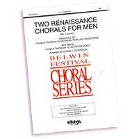 Various Arrangers : Rennaissance Chorals For Men : TTBB : Sheet Music