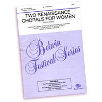 Various Arrangers : Rennaissance Chorals for Women : SSAA : Sheet Music