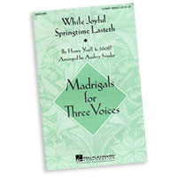 Various Arrangers : Madrigals for Three Voices : 3 Parts : Sheet Music