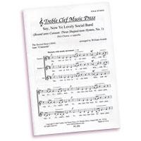 William Averitt : Bound Unto Canaan - Three Shape-Note Hymns : SSA. : Sheet Music