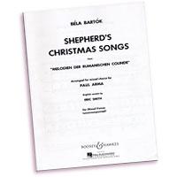 Bela Bartok : Shepherd's Christmas Songs : SATB divisi : 01 Songbook : 073999885835 : 48002889