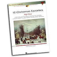 Richard Walters : 12 Christmas Favorites - High Voice : Solo : Songbook & CD :  : 073999712766 : 0634081829 : 00000384