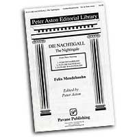 Felix Mendelssohn : Three Choral Songs : SATB : Sheet Music