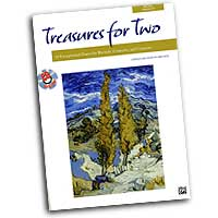 Andy Beck : Treasures for Two : Duet : 01 Songbook & 1 CD :  : 00-23890