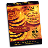 Judy Clark : Lutgen Vocal Exercise Vol 1 - High Voice : 01 Book Warm Up & 1 CD :  : LHV-V1