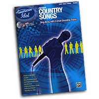 Various Arrangers : American Idol: Country Songs : Solo : Songbook & CD : 00-27683