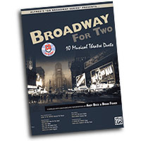 Various Arrangers : Broadway for Two : Duet : 01 Songbook & 1 CD : 038081263205  : 00-27113