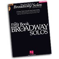 Joan Frey Boytim : The First Book of Broadway Solos for Mezzo-Sopranos : Solo : Songbook & CD :  : 073999616644 : 0634022822 : 00740135
