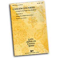 Oscar Escalada : Latin American Choral Series  : SATB : Sheet Music