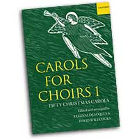 Reginald Jacques (editor) : Carols for Choirs Vol 1 : SATB : 01 Songbook : 9780193532229