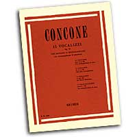 Giuseppe Concone : 15 Vocalises for Sopranos or Mezzo-Sopranos : Solo : Vocal Warm Up Exercises :  : 073999958300 : 50095830