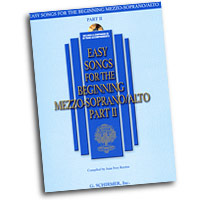 Joan Frey Boytim : Easy Songs for the Beginning Mezzo-Soprano / Alto Part II : Solo : Songbook & CD :  : 884088075057 : 1423412141 : 50486243