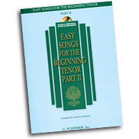 Joan Frey Boytim : Easy Songs for the Beginning Tenor - Part II : Solo : Songbook & CD : 884088075064 : 142341215X : 50486244