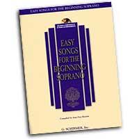 Joan Frey Boytim : Easy Songs for the Beginning Soprano : Songbook & CD :  : 073999837568 : 0634019686 : 50483756