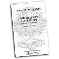 Aaron Jay Kernis : Ecstatic Meditations : Mixed 5-8 Parts : Sheet Music