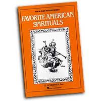 Parker / Shaw : Favorite American Spirituals : SATB : 01 Songbook :  : 073999365986 : 50501600