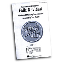 Close Harmony For Men : Feliz Navidad - 4 Charts and Parts CD : TTBB : Sheet Music & Parts CD : 884088138684 : 08746915