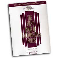 Joan Frey Boytim : The First Book of Baritone / Bass Solos : Solo : Songbook & CD :  : 073999837841 : 0634020498 : 50483784