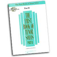 Joan Frey Boytim : The First Book of Tenor Solos Part II : Solo : Songbook & CD : 073999837872 : 0634020528 : 50483787