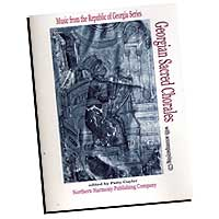 Various Arrangers : Georgian Sacred Chorales : SATB : 01 Songbook & 1 CD