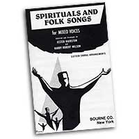 Jester Hairston : Spirituals and Folk Songs : SATB : 01 Songbook : Jester Hairston : Jester Hairston : 163176