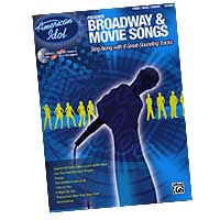 Various Arrangers : American Idol: Broadway & Movie Solos : Solo : Songbook & CD : 00-27692
