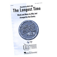Close Harmony For Men : The Longest Time - 4 Charts and Parts CD : TTBB : Sheet Music & Parts CD : 884088138660 : 08746913