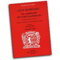 Luca Marenzio : Complete Six Voice Madrigals : Mixed 5-8 Parts : 01 Songbook :  : GM3226
