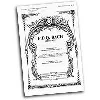 P.D.Q. Bach - Peter Schickele : Madcap Madrigals : SATB : Sheet Music : 312-40794