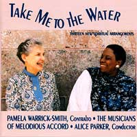 Melodious Accord - Alice Parker : Take Me To The Water : 00  1 CD : Alice Parker : Parker, Alice  : CD-329